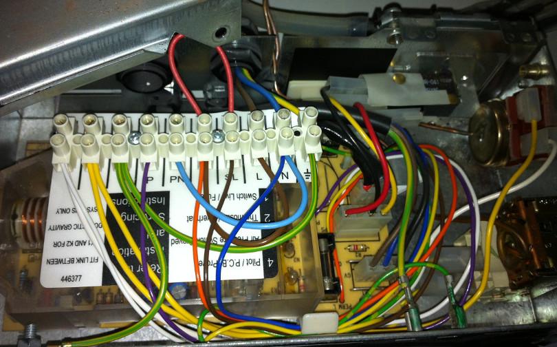 Saunier Duval Xeon 40 40ff Boiler Fix Repair Richud Com